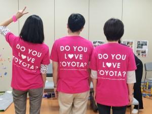LOVE TOYOTA スタッフTシャツ
